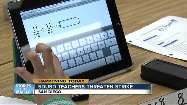 San Diego Teachers Threaten to Strike
