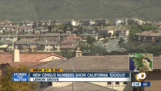 California -exodus- shown in new census numbers