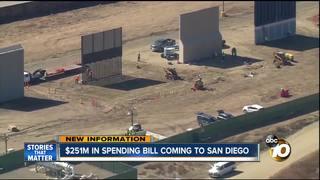 San Diego getting $251 million for border wall