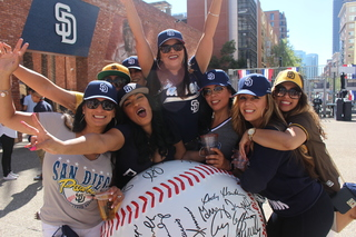 PHOTOS: Padres fans celebrate Opening Day