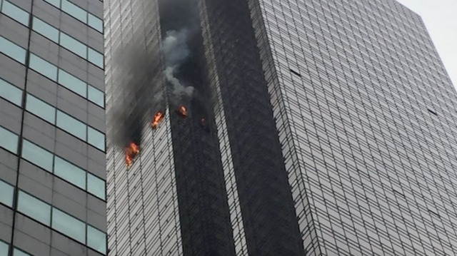 One killed in Trump Tower fire