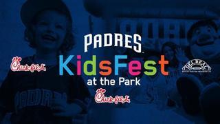 KidsFest family fun at Petco Park Sunday games