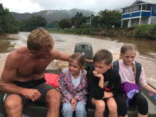 Surfer Laird Hamilton rescues family from flood