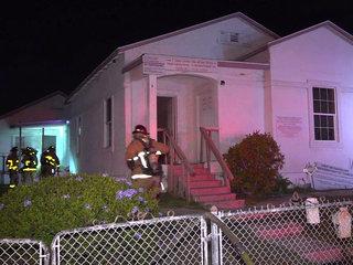 Fire erupts in Logan Heights church