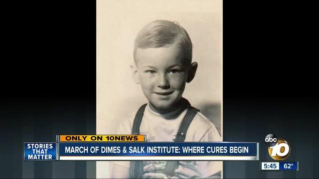 March of Dimes -amp- Salk Institute- where cures begin