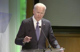 Joe Biden visits La Jolla's Salk Institute
