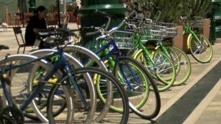 Dockless bikes inundating Little Italy Sidewalks