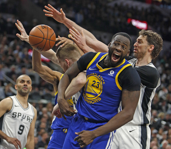 Spurs Stay Alive, Beat Warriors, 103-90, In Game 4