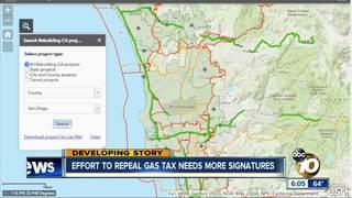 Gas Tax Repeal Deadline