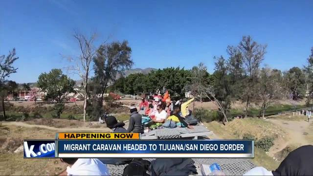 President Trump Orders Immigrant 'Caravan' Stopped at Border