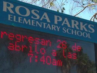 Students return to class after teacher's arrest
