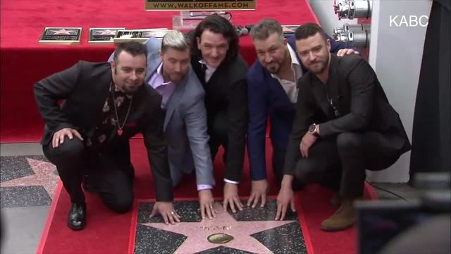 NSYNC to Be Honored On the Hollywood Walk of Fame