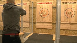 Axe-throwing event space opens in Mission Valley