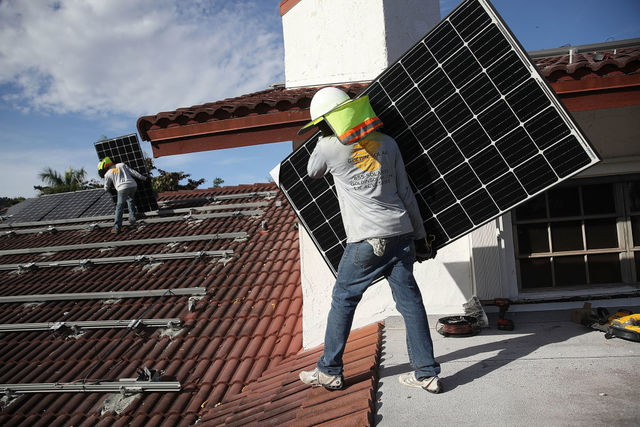 California to require solar panels on new homes