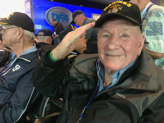 PHOTOS: Local military vets go on Honor Flight
