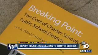 Report: SDUSD loses millions to charter schools