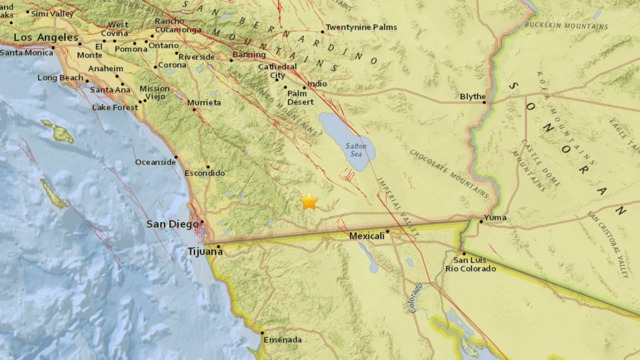 Series Of Minor Quakes Hit Ocotillo Wells In San Diego County