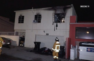 Two children injured in South Bay apartment fire