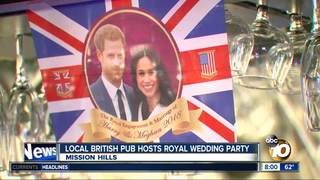Local pub hosts royal watch party