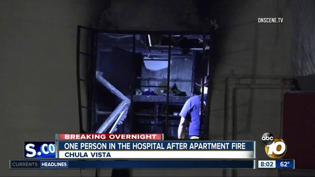 2 children injured in Chula Vista apartment fire