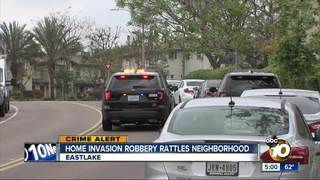 Chula Vista home invasion robbery suspects loose