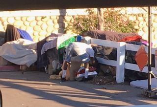 Normal Heights neighbors fighting homeless camp