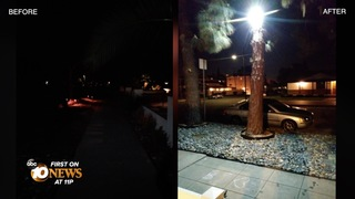 Pacific Beach neighbors working to light streets