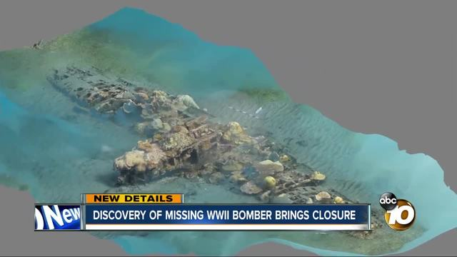 Discovery of missing WWII bombers brings closure