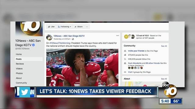 Let-s Talk- NFL Anthem