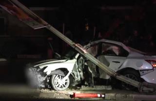 Woman driving 100 MPH dies following crash