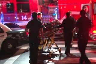 Man hit by car after argument with driver
