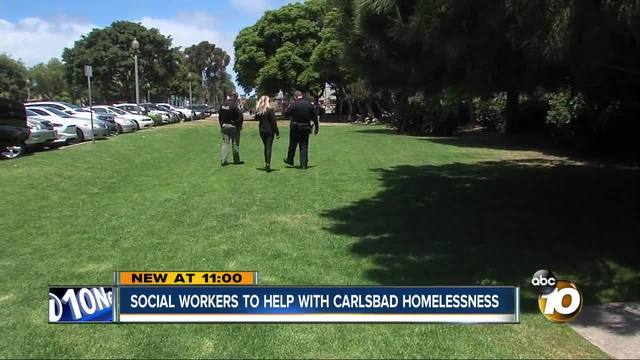 Social workers to aid the homeless in Carlsbad