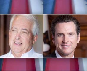 Newsom, Cox advance to November election