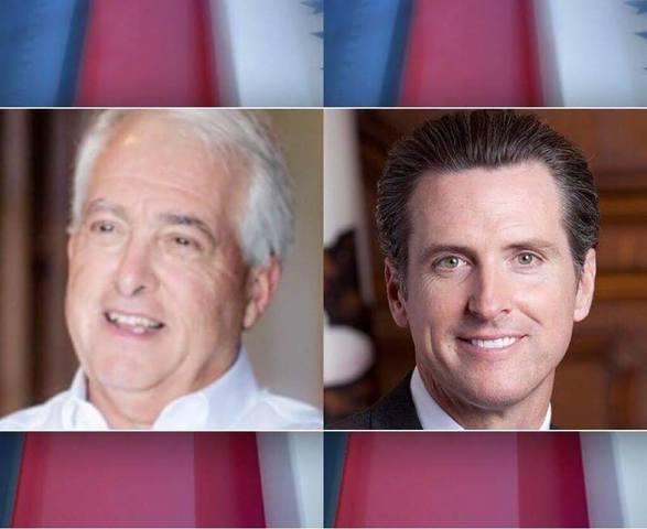 Newsom, Cox advance to November election