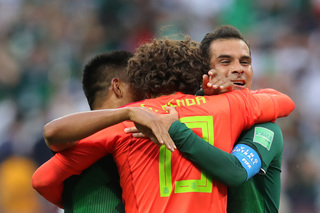 PHOTOS: Mexico upsets World Cup champion Germany