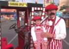San Diego fair ventriloquist was once a mime