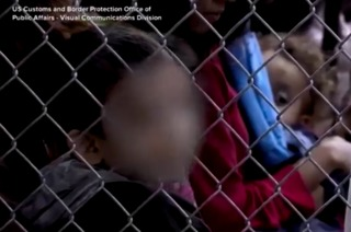 AUDIO: Children cry at detention facility