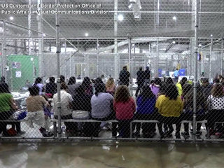 VIDEO: Inside look at Texas immigration center
