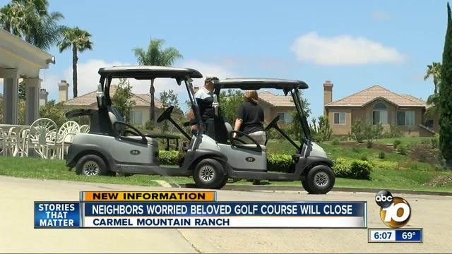 Carmel Mountain Ranch Country Club could shut down in July - 10News on golf trolley, golf players, golf hitting nets, golf girls, golf tools, golf handicap, golf card, golf games, golf machine, golf accessories, golf cartoons, golf words, golf buggy,