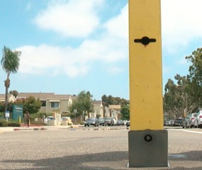 Coronado installs street barriers for events