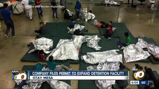 Company files permit to expand detention center