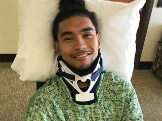 Cal football recruit walking months after injury