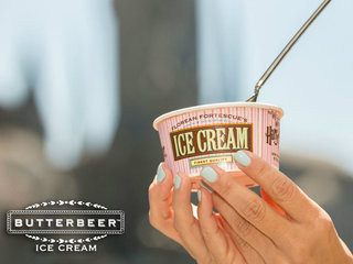 Harry Potter fans: Butterbeer ice cream is here