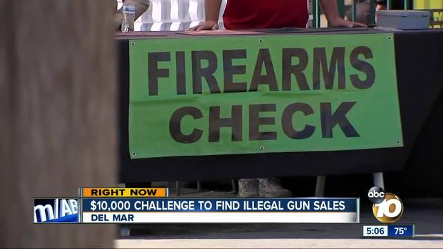 San Diego Gun Owners Issue Challenge To Catch Illegal Sale At Del Mar Show