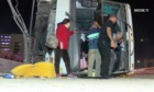 Casino bus crashes, 25 injured
