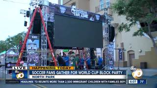 North Park hosts giant World Cup Party