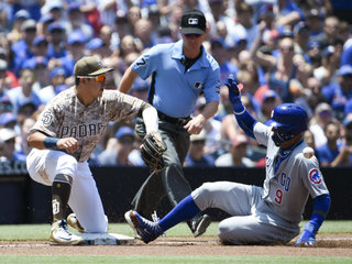 Padres swept into All-Star break by Cubs