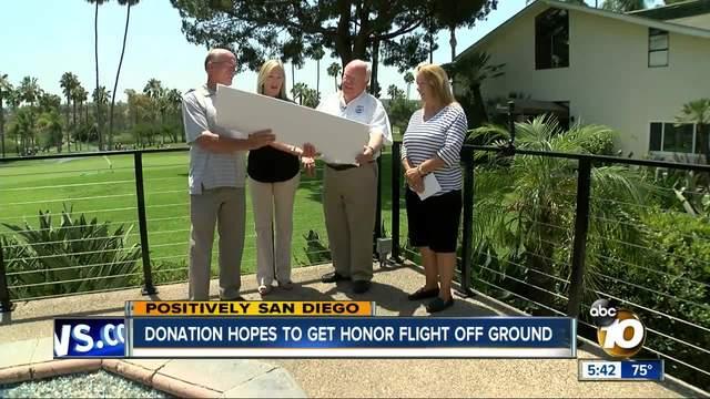 Foundation donates -100-000 to Honor Flight
