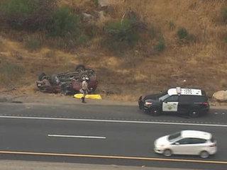 Man dies in rollover crash on I-8 in Alpine