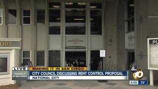 National City resident rally behind rent control